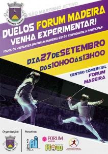 Cartaz Duelos Forum Madeira